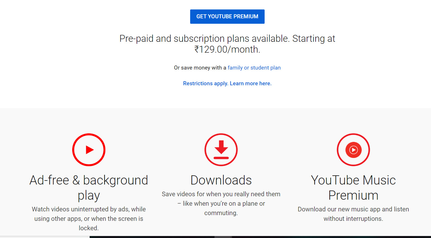 Free YouTube Premium Accounts & Passwords