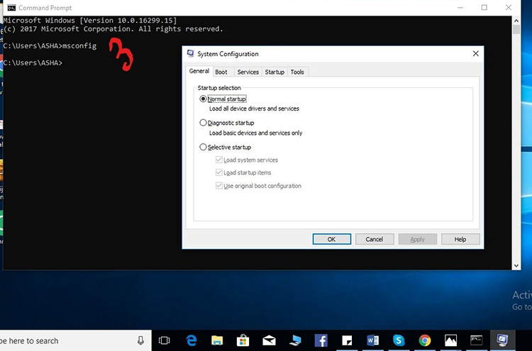 Use Command Prompt or PowerShell 1