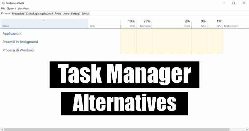 5 Best Task Manager Alternatives For Windows 10 Technews