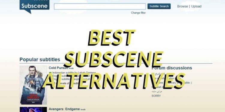Subscene Alternatives