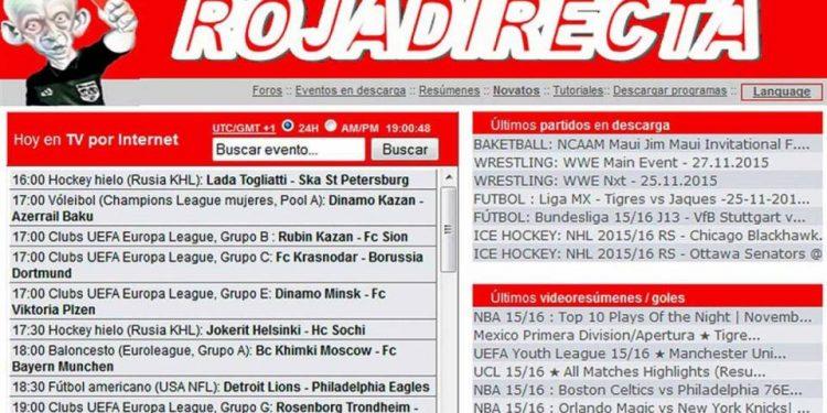 ROJADIRECTA - Live sport stream by Roja directa