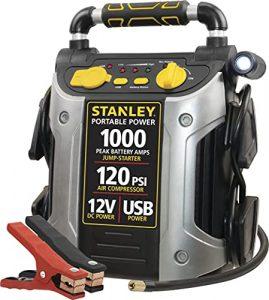 Best Portable Jump Starter and Air Compressor: STANLEY J5C09