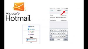 hotmail iphone