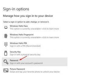 How to Change Windows 10 Login Password